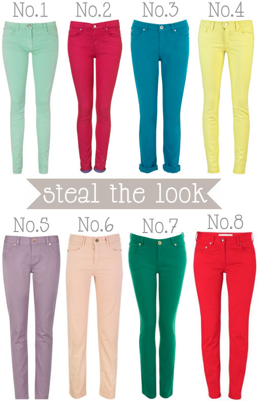 Coloured skinny jeans uk – Global fashion jeans collection