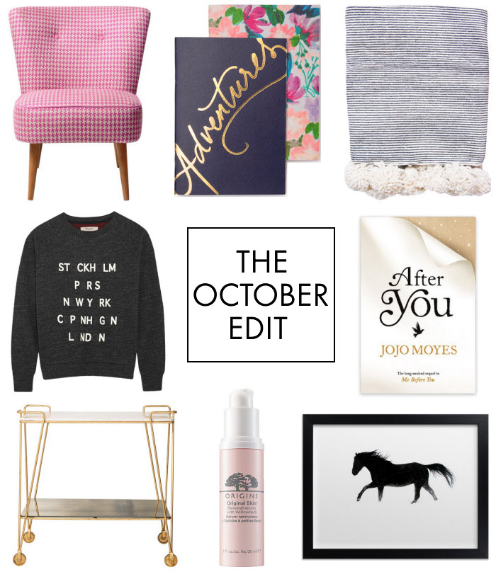 the october edit via {what you fancy}