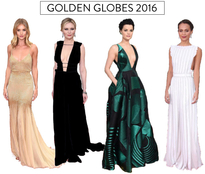 Best Dressed @ the Golden Globes 2016 v1
