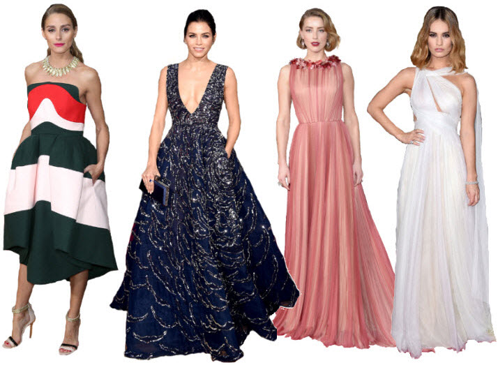 Best Dressed @ the Golden Globes 2016 v2