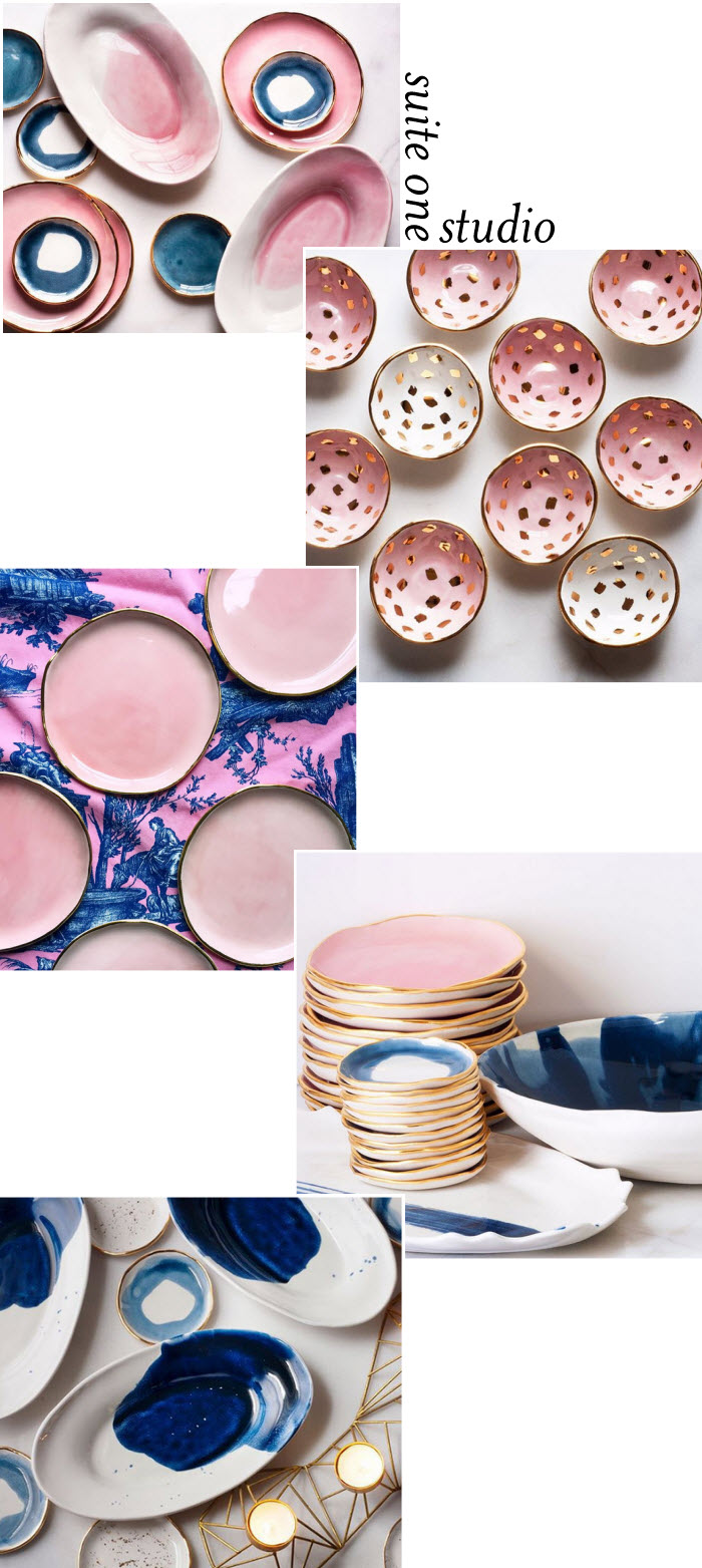 Suite One Studio ceramics via {what you fancy}