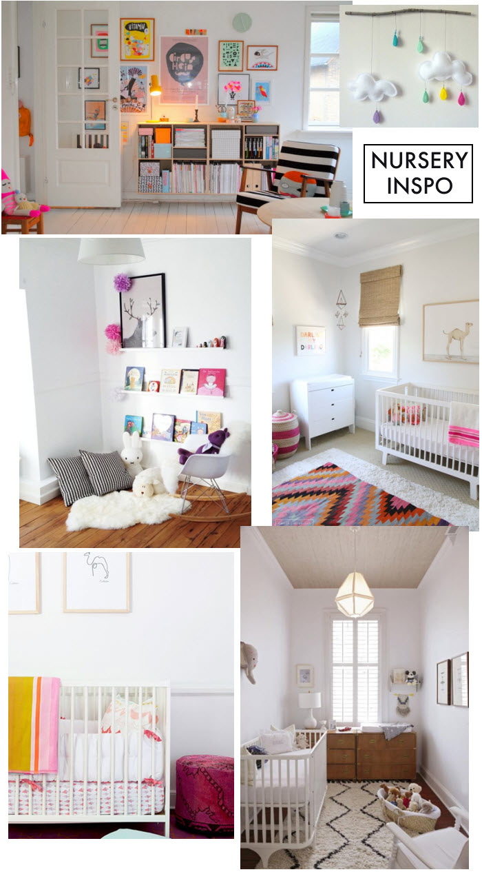Nursery inspo via {what you fancy}
